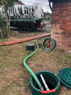 Septic tank emptying Essex
